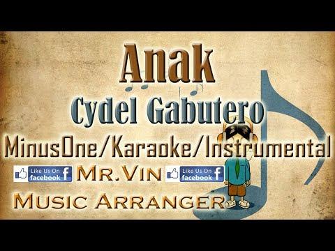 Anak - Cydel Gabutero - MinusOne/Karaoke/Instrumental