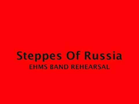 Eastern Hills Middle School Band Rehearsal : Steppes of Russia