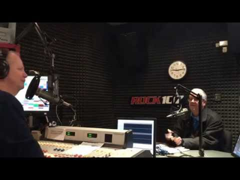 Chris Kelly with Prospector on Rock 107 1/30/2015