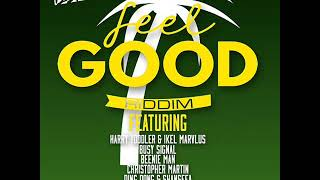 Feel Good Riddim Mix (Full) Feat. Chris Martin, Busy Signal, D Major (April Refix 2018)