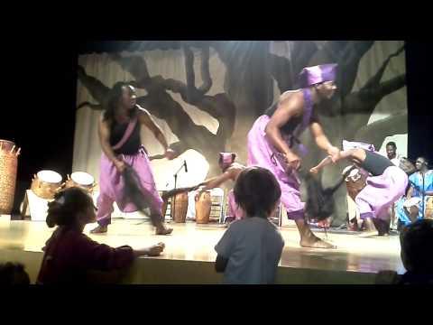 Titambe Perform Nagla dance from Ghana