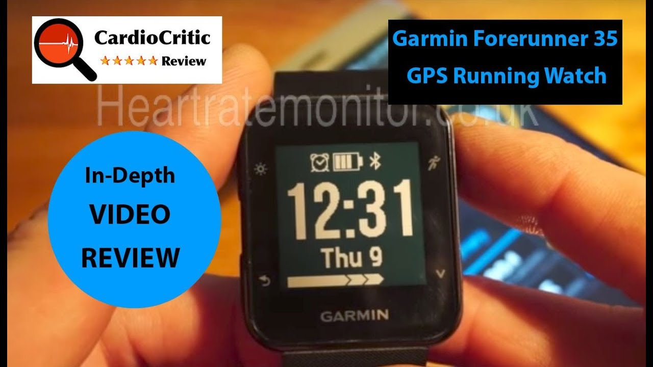 1d0cd5a32d6454 Garmin Forerunner 35 Review - 2018 Best GPS Running watch with 24/7  Activity Tracking & Heart Rate