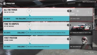 Forza Motorsport 7 - July #Forzathon Events #4 (July 27 - August 3)