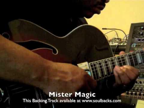 Mr Magic - backing track by www.soulbacks.com