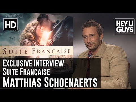 Matthias Schoenaerts Exclusive Interview - Suite Française