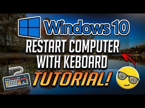 How to Restart Computer with Keyboard in Windows 10 - [Tutorial] thumbnail