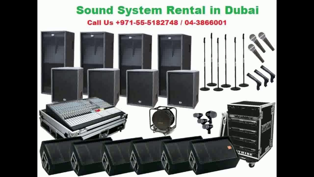 sound system rental. sound system rental dubai n