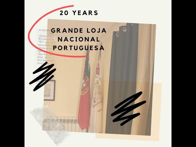 20 YEARS - Grande Loja Nacional Portuguesa