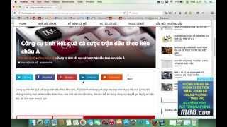 Video hướng dẫn tính kết quả cá cược Châu Á