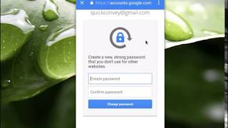 HOW TO Change forgotten Gmail password in Android Mobile Phone