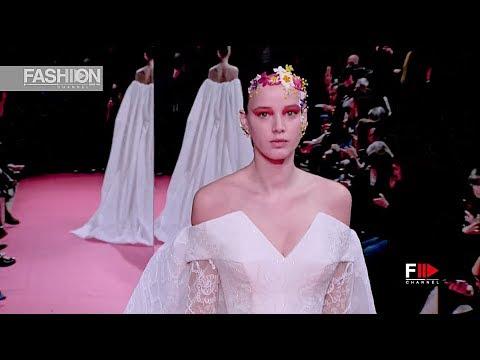 ALEXIS MABILLE Haute Couture Spring 2019 Paris – Fashion Channel