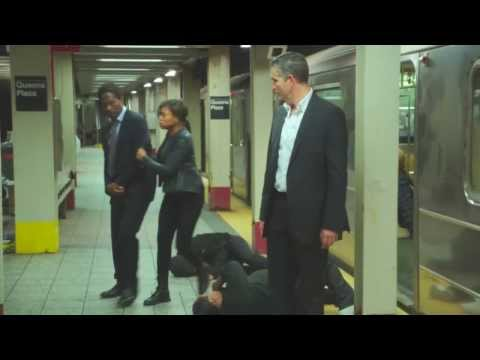 Person Of Interest: John Reese Vs Subway Thugs (Round Two)