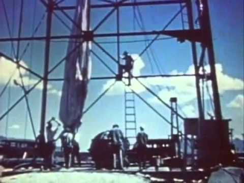 First Atom Bomb Trinity  Test Manhattan Project  15-16 July 1945