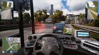 Bus Simulator Gameplay (PS4 HD) [1080p60FPS]