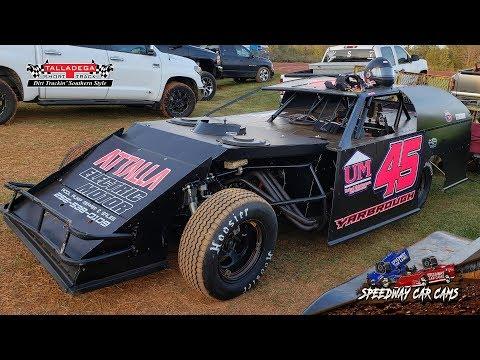 Winner - #45 Chris Yarbrough - Open Wheel - 3-29-19 Talladega Short Track - In Car Camera