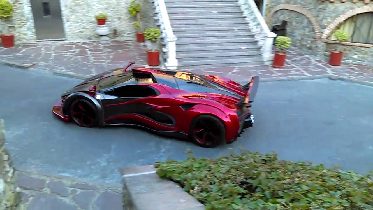Inferno Exotic Car First Run Youtube