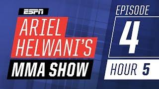 Cris Cyborg, New York Ric [Episode 4/Hour 5] | Ariel Helwani's MMA Show | ESPN