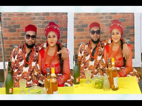 Download Nollywood Actress Uju Okoli Shares Lovely Photos Of Her Traditional Marriage