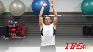Dynamic Stretching Warm Up Exercises - HASfit Warmup Workout Routine for Flexibility Stretches