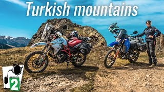 Motorcycle riding in Turkey - tea factory visit