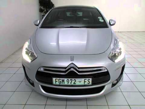 citroen ds5 1 6 thp 200 style auto for sale on auto trader south africa youtube. Black Bedroom Furniture Sets. Home Design Ideas