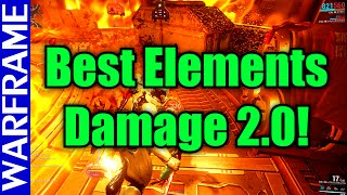 Warframe Elemental Damage 2.0 Explanation! Best Element for Each Faction! -U16- [1080HD]