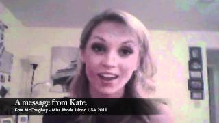 Kate McCaughey - thePageantGuy.com Interview with Miss Rhode Island USA 2011