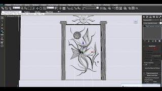 Видеоурок - создание барельефа в 3D Studio Max 2011 RUS