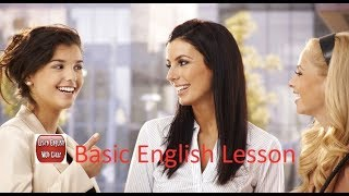 Improve your daily English conversation skills With Basic English Lesson