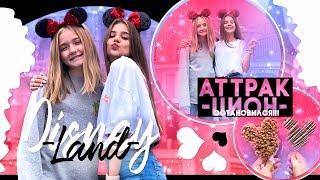 Disneyland в Америке//Аттракцион остановился!!!
