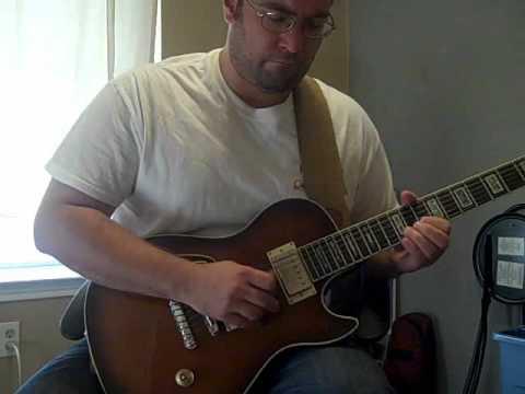 Ibanez AXD81 - Harmonic Design humbuckers - Laid-back, bluesy, Dorian guitar groove