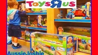 Thomas and Friends | Thomas Train Toys R Us Kids Shopping Spree Surprise | Fun Toy Trains for Kids