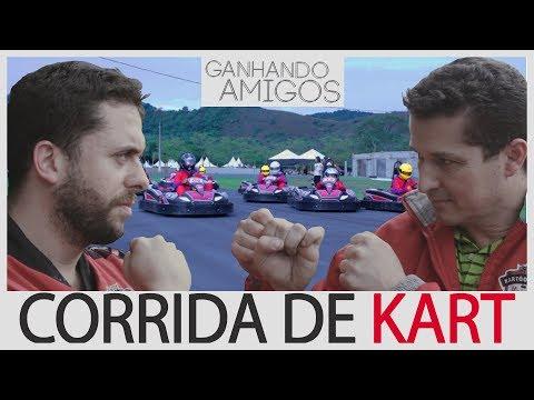 GANHANDO AMIGOS #18 - CORRIDA DE KART (Itajuba, MG)