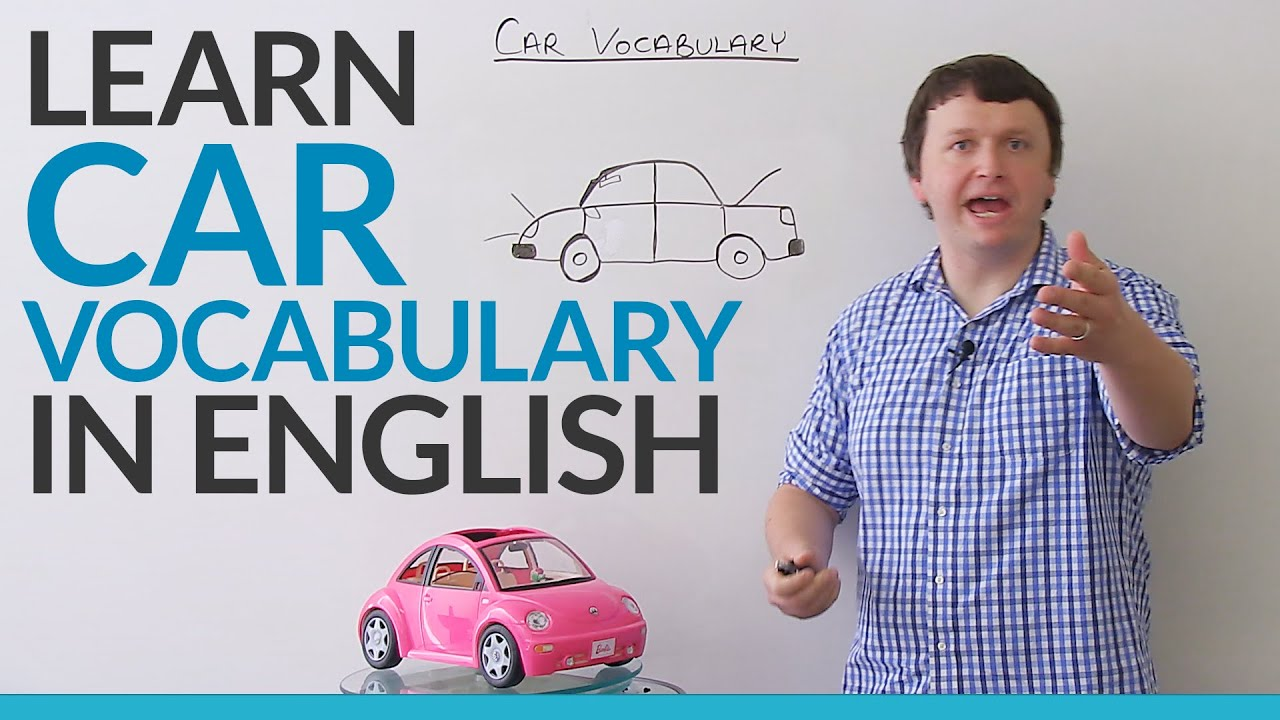 Car Parts English Vocabulary Youtube