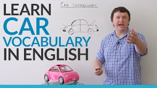 Learn vocabulary about CARS in English thumbnail