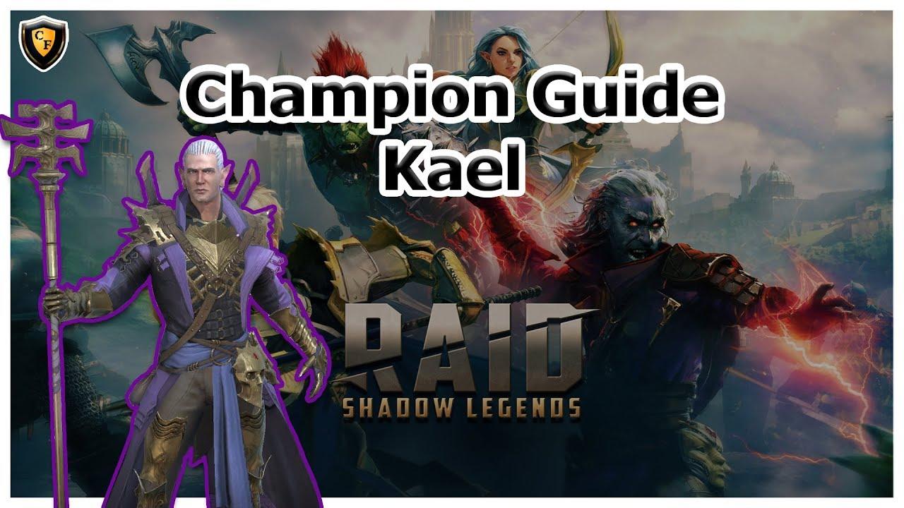 Raid Shadow Legends Kael Skill Mastery Equip Guide | AyumiLove
