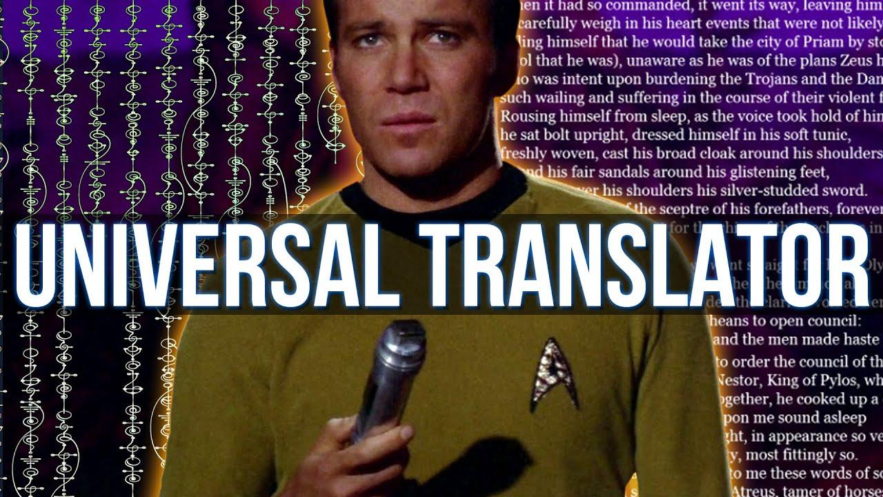 Brief History of the Universal Translator (Star Trek)