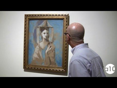 Picasso/Lautrec. Museo Thyssen-Bornemisza. Madrid. Enero 2018.