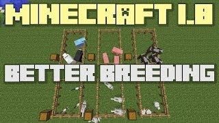 Minecraft 1.8 - Quicker Breeding - Growing Baby Animals Faster