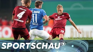 DFB-Pokal: Rostock gegen Nürnberg - die Highlights | Sportschau