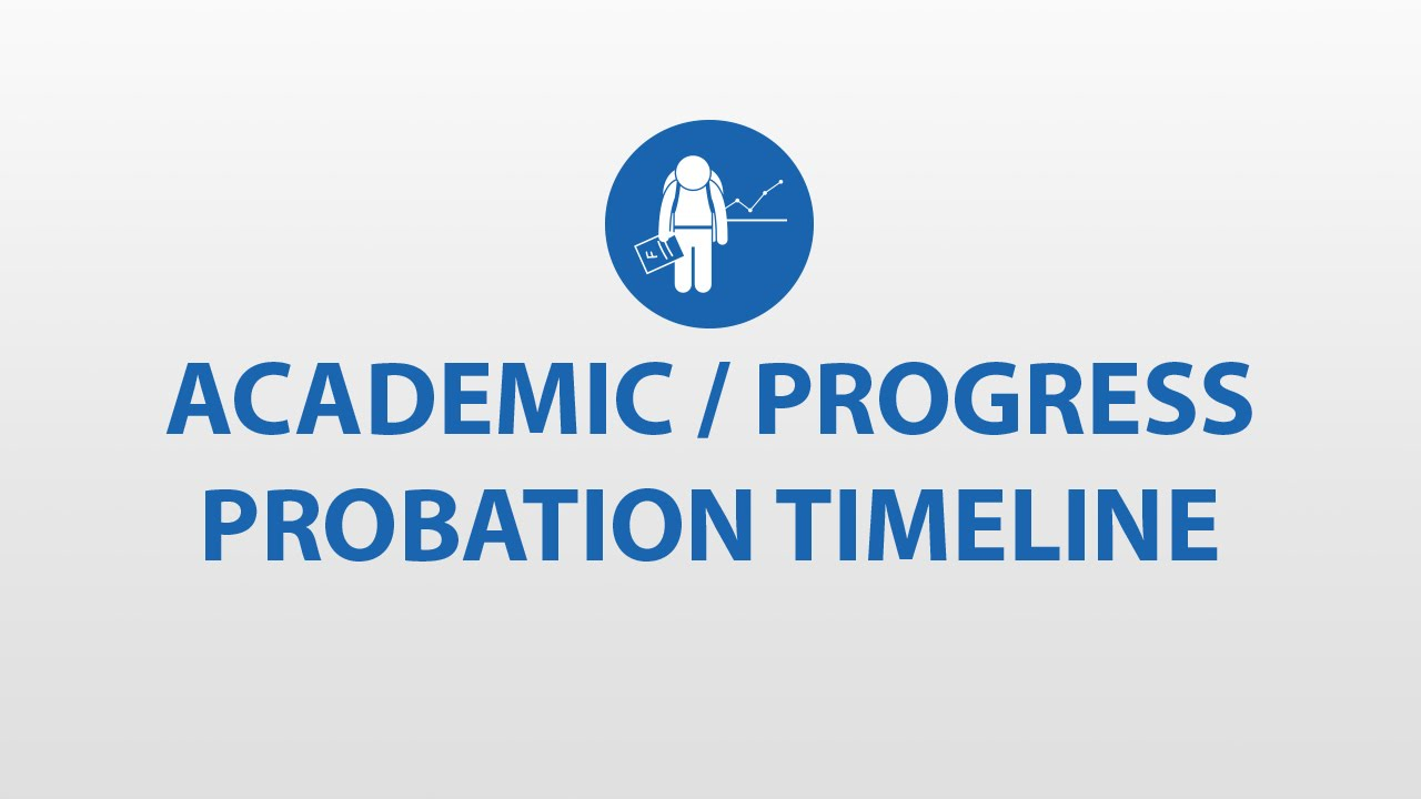 academic probation Do you have an advisee who was placed on academic probation do they feel like this academic probation can be very confusing for students and challenging for advisors to explain.