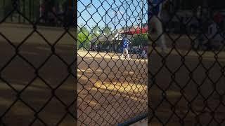 Best Baseball Player In Knoxville TN Hits Homerun