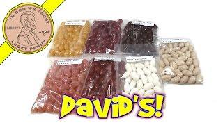 David's Signature Gourmet Jelly Beans - Bacon, Strawberry, Coconut, Chipotle, Habanero - Yum!