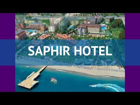 SAPHIR HOTEL 4* Турция Алания обзор – отель САФИР ХОТЕЛ 4* Алания видео обзор