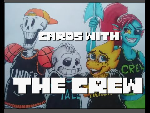 CARDS WITH THE CREW - 300 Subs Video
