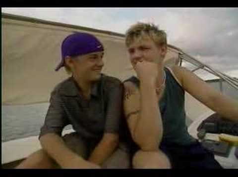 Nick & Aaron Carter Interview On A Boat (Full)