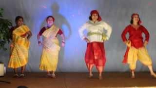 Saunthali Dance Halifax Durga Puja 2013