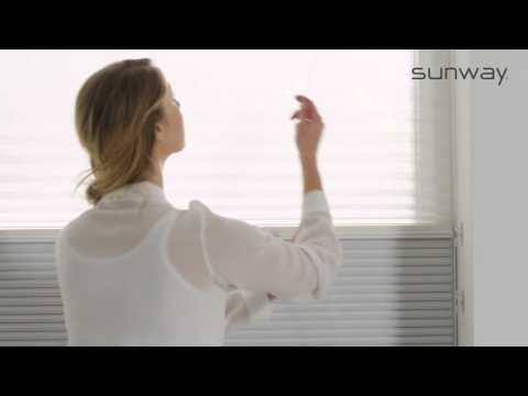 Duette® Shades | Dag- & Nachtsituatie | SUNWAY® Raamdecoratie