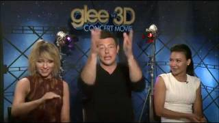 Naya, Cory, Dianna Interviews Compilation (part 1)