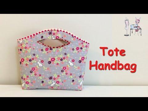 TOTE BAG | CUTE BAG |  HANDBAG | DIY BAG | BAG SEWING TUTORIAL | Coudre Un Sac | DIY Bolsa